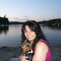 Lake Sunapee Sunset - Even dogs need a vacation...Sophie from Manchvegas!
